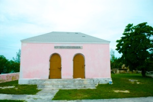A colonial prison in the Bahamas.