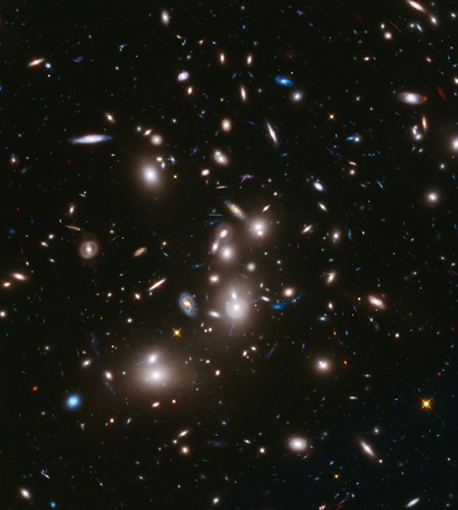 The famous Hubble Super Deep Field courtesy of NASA.